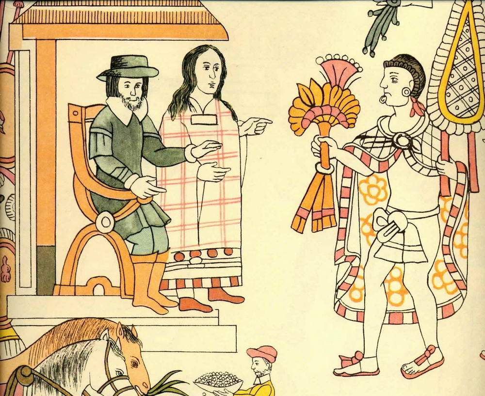 the controversial life and history of la malinche or marina Description la malinche, the title of this lithograph, was the indigenous woman who translated for cortés between maya, náhuatl, and.