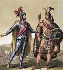 Кортес и Монтесума II