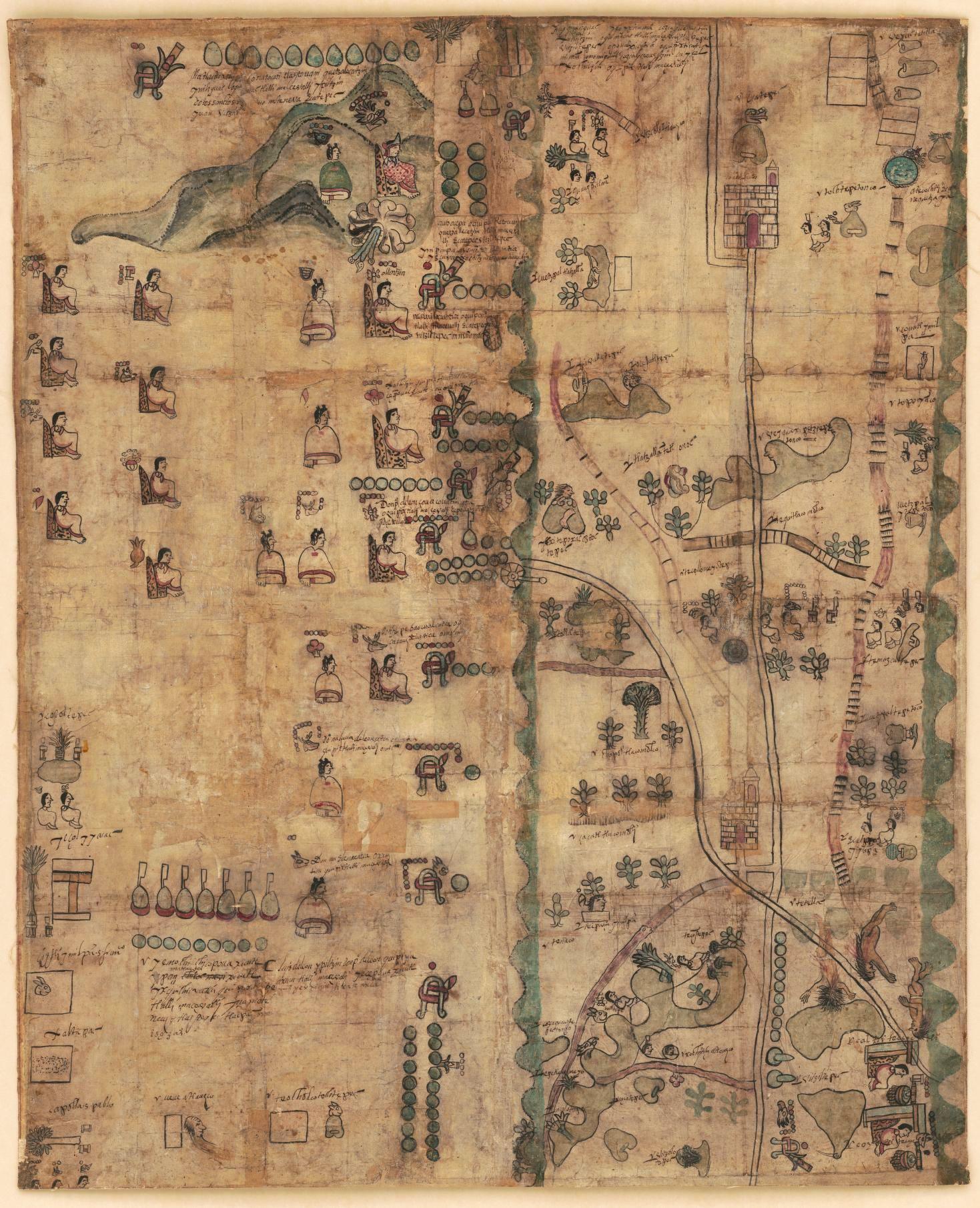 Библиотека Конгресса США приобрела и оцифровала мексиканский кодекс 1593  года