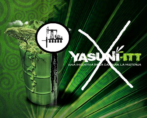 yasuni itt essay Yasuni-itt: chronicle of a death foretold but the initiative itself has raised the profile of yasuni's importance to a global level.