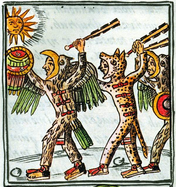 how were the aztec army aztec