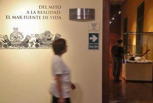 Выставка «От мифа к реальности: море – источник жизни» проходит в Лиме (Перу). Фото - ANDINA / andina.com.pe