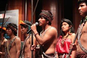 Лидеры коренных народов призвали привлечь их сообщества к решению проблем изменения климата. Фото - ANDINA / andina.com.pe