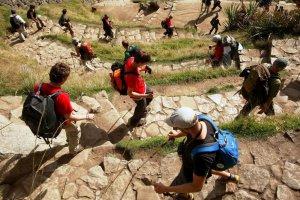 Дорога инков до Мачу-Пикчу в феврале будет закрыта на техобслуживание. Фото - Andina