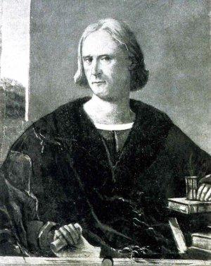 Портрет Колумба, написанный в 1512 году, через шесть лет после его смерти.