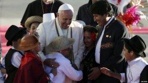 Папа римский: «Прошу смиренного прощения… за преступления против коренных народов во время… завоевания Америки». Фото: Агентство Рейтер