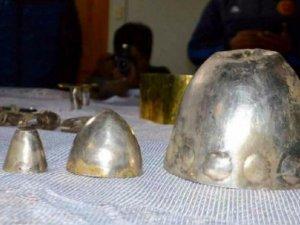 В Кахамарке (Перу) туристы нашли древние золотые и серебряные изделия. Фото: rpp.pe