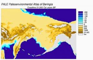 Предки палеоиндейцев прожили в Берингии 10 тысяч лет? Изображение - NOAA