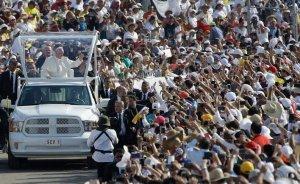 Римский Папа посетил самый индейский штат Мексики