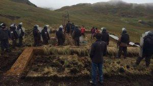 Третий случай устрашения перуанской крестьянской семьи Чаупе произошел в этом году. Фото: El Comercio