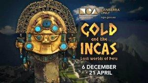 Выставка «Золото и инки: затерянные миры Перу» проходит в Австралии