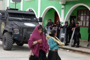 Суд Линча в Сан-Хуан-Чамуле: предполагаемые казнокрады алькальд и его заместитель были убиты местными жителями
