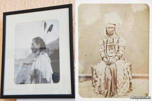 В Усть-Каменогорске (Казахстан) проходит фотовыставка, посвященная коренным народам Центральной Азии и Северной Америки. Фото: Сергей Суров / Altaynews.kz