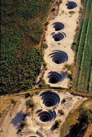 Итальянские учёные: пукио на плато Наска служили для подъёма воды и её перегона по подземным каналам