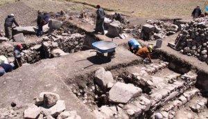 В Ламбаеке (Перу) в археологической зоне Конгона обнаружен древний религиозный центр, возраст которого оценивается в 3000 лет. Фото - Difusión / peru21.pe