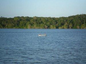 Озеро Чичанканаб. Фото: Mark Brenner, University of Florida