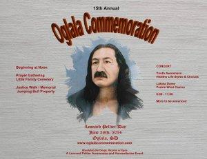 В резервации Пайн-Ридж 26 июня пройдёт мероприятие в честь Леонарда Пелтиера