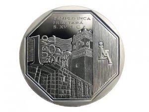 Перуанская монета с инкским храмом удостоилась награды за дизайн