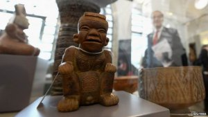 Испания возвратит Колумбии древние артефакты, изъятые у наркобанд. Фото - Reuters