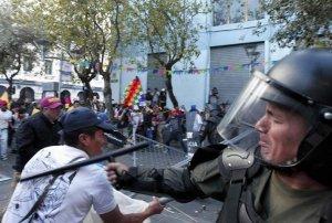 Беспорядки в Эквадоре. 14 августа 2015 г. Фото: REUTERS