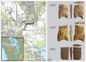 В пригороде Сиэтла найдена древняя 10000-летняя мастерская