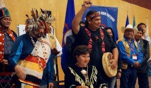 50 коренных народов Северной Америки сформировали альянс против разработки нефтеносных песков. Фото: Elizabeth McSheffrey