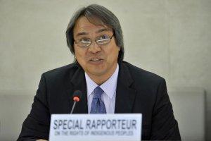 Специальный докладчик Организации Объединенных Наций по правам коренных народов Джеймс Анайя