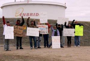 Индейцы чиппева не хотят продлевать соглашение с трубопроводной компанией Enbridge. Фото: Uneditedmedia.com