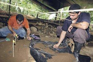 Представлены находки с древнейшего в Коста-Рике поселения. Фото: ICE
