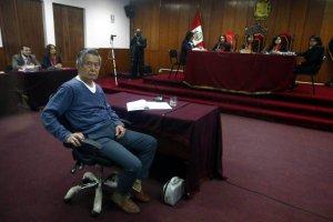 Суд над Альберто Фухимори. Фото - diariocorreo.pe