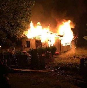 Огонь, вспыхнувший на рассвете 12 апреля в часовне города Каньете, полностью уничтожил здание