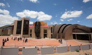 Музей, посвящённый президенту Боливии и индейцам-аймара открыл сам Эво Моралес. Фото: Martin Alipaz/EPA
