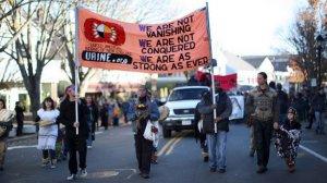 День благодарения не для всех: в Плимуте активисты отметили День скорби. Архивное фото