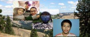 Стрельба в резервации Юматилла: на фото вверху слева убитый Тони Хименес с детьми; внизу справа - подозреваемый в убийстве Виктор Контрерас