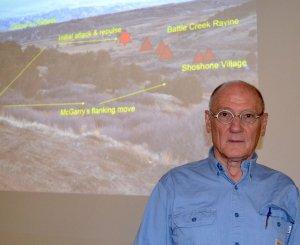 Археолог штата Айдахо Кен Рейд