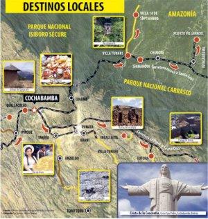 Новый туристический маршрут по старинным и современным достопримечательностям представлен в Боливии