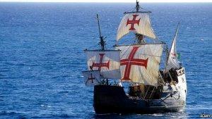 Копия корабля Христофора Колумба «Санта-Мария»