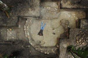 Круглое строение, найденное в Сейбале, ок. 500 г. до н.э. Фото: Такеши Иномата