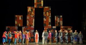 Опера Генри Пёрселла «Королева индейцев». Фото - Алексей Гущин