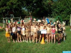 «День индейца» прошёл в краснодарском детском саду. Фото Елены Сорокиной для www.maam.ru