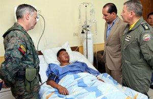 В ходе стычки с нелегальными шахтерами в Эквадоре убит индеец шуар, 9 солдат ранены. Фото - Министерство обороны Эквадора / defensa.gob.ec