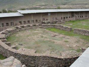 Главный Храм археологического комплекса Уари. Фото - aliinperu.wordpress.com
