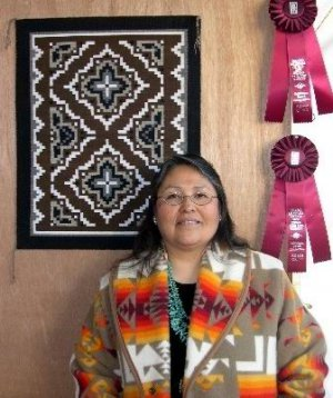 Барбара Теллер Орнелас - художница-ткач из племени навахо