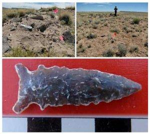 Исследуя один участок в северной Аризоне археологи наткнулись на следы двух похожих друг на друга поселения, которым предварительно 1300 лет