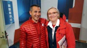 Министр рыболовства и океанов инуит Хантер Туту (слева) и министр по делам коренных народов и вопросов севера Кэролин Беннет (справа). Фото: Либеральная партия Канады
