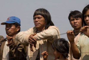 Амбросио Вилхальва, лидер индейцев гуарани-кайова. Кадр из фильма «Birdwatchers» («Наблюдатели за птицами»)
