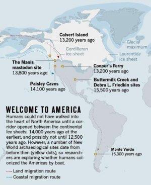 Следы палеоиндейцев будут искать под водой