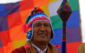 Эво Моралес. Фото - Мартин Алепас / EPA