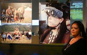 Индейцы кашая прибыли с культурной программой в Россию. Фото - Андрей Свитайло / metronews.ru
