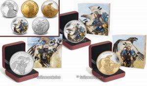Королевский монетный двор Канады выпускает несколько монет серии «Легенда о Нанабозо»